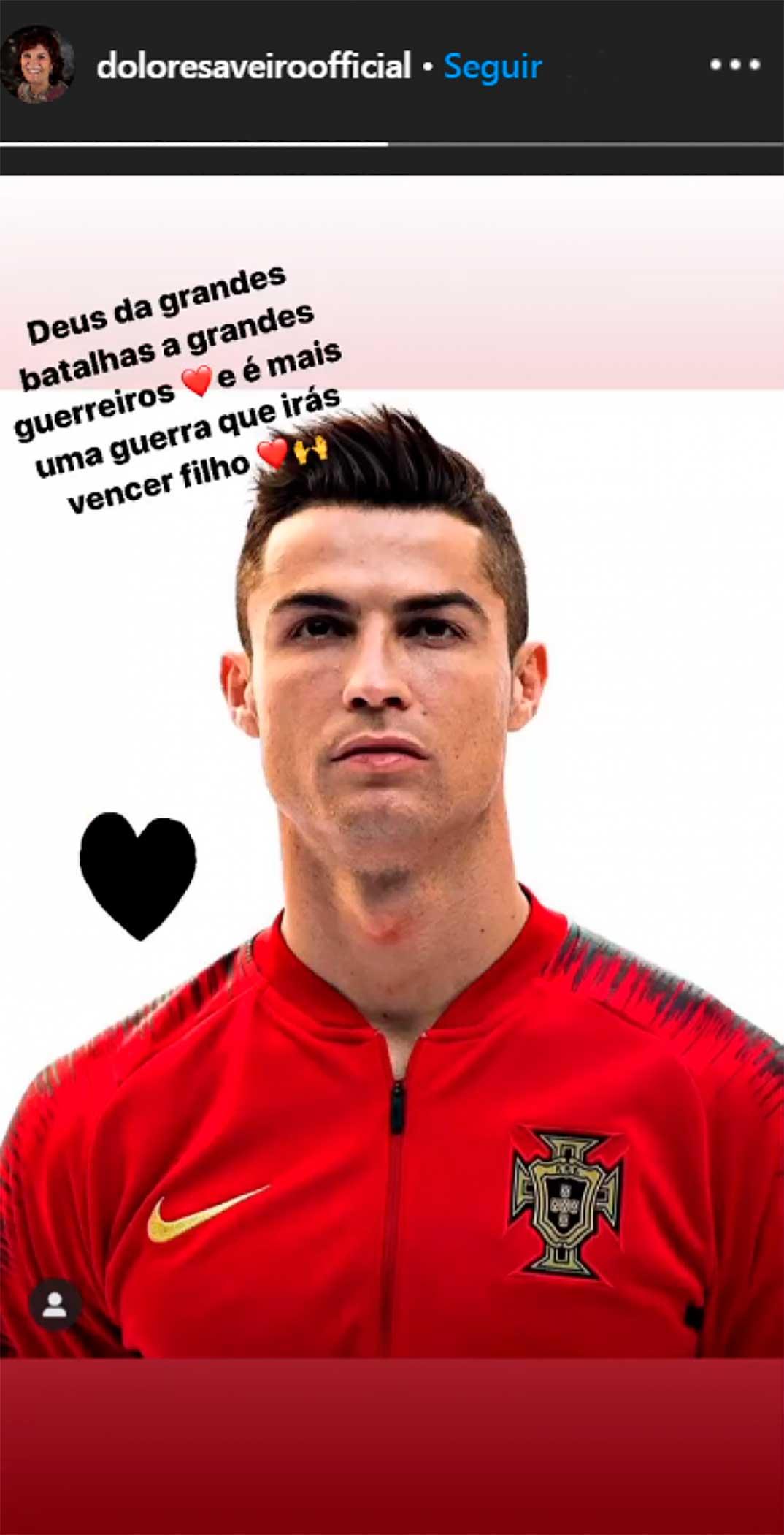 Cristiano Ronaldo © Instagram