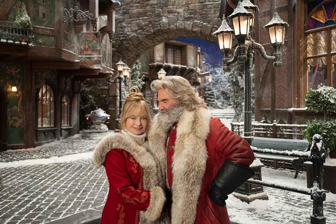 'Crónicas de Navidad 2', con Kurt Russell y Goldie Hawn, estreno en Netflix