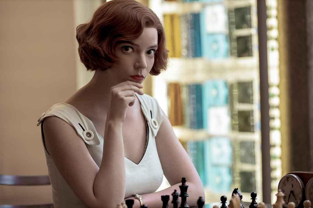 Gambito de dama © Netflix