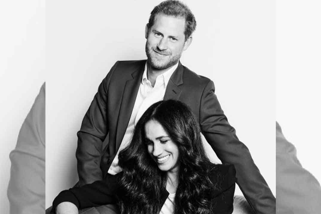 El primer posado del príncipe Harry y Meghan Markle tras el «Megxit»