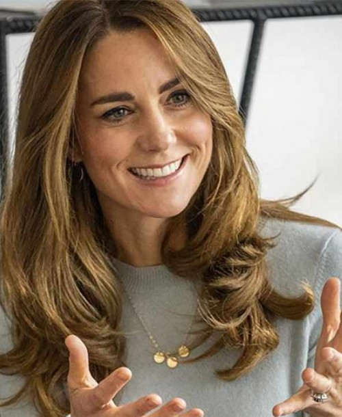 Kate Middleton apuesta por un total look de Massimo Dutti