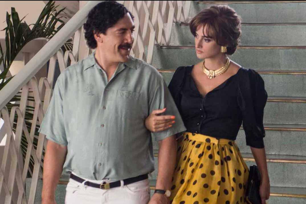 """""""Loving Pablo"""" con Penélope Cruz y Javier Bardem en Cine Español de La 1"""