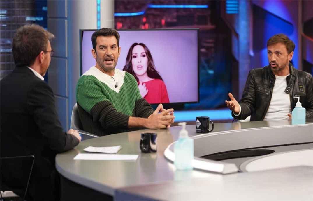 Malú, Arturo Vals y José Mota - El Hormiguero © Antena 3