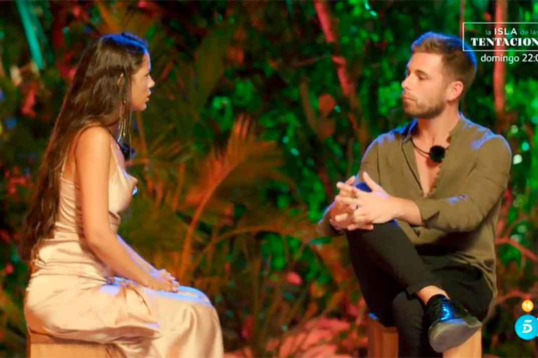 Melyssa Pinto y Tom Brusse - La isla de las tentaciones 2 © Telecinco