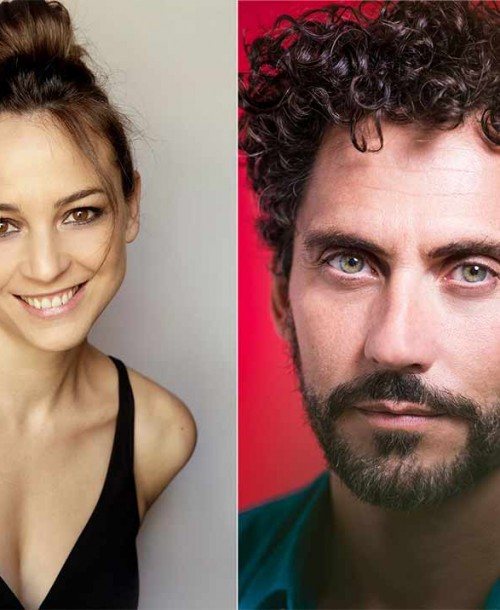 Paco León y Leonor Watling, protagonistas de la mini serie 'Besos al aire'