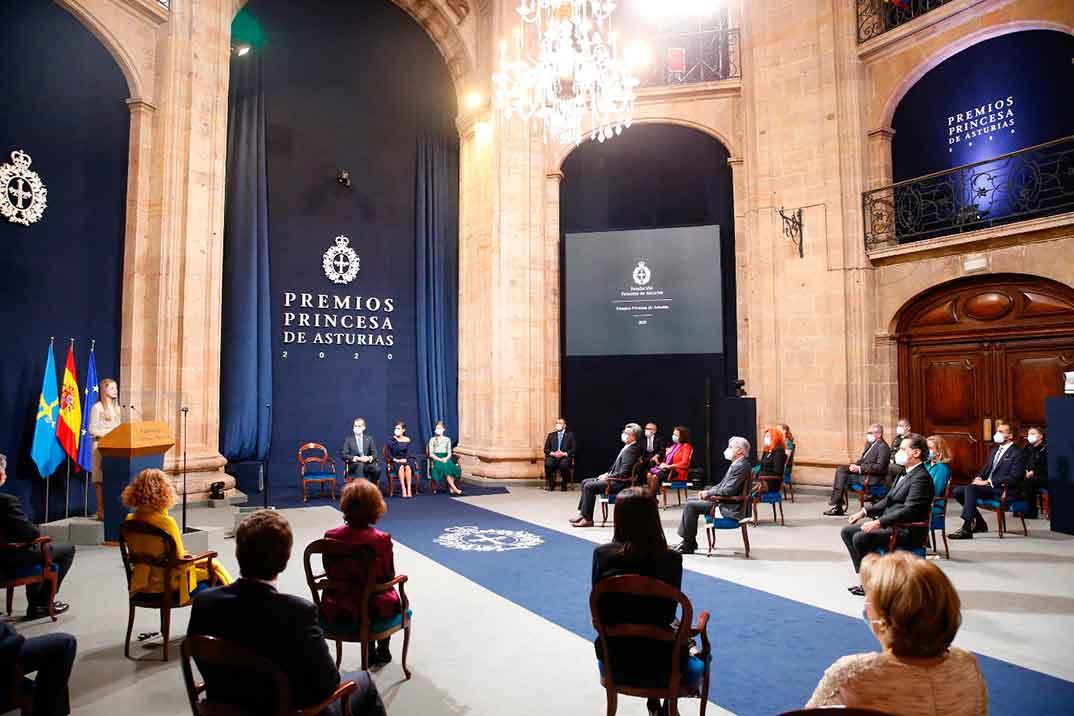 Premios Princesa de Asturias 2020 © Casa S.M. El Rey