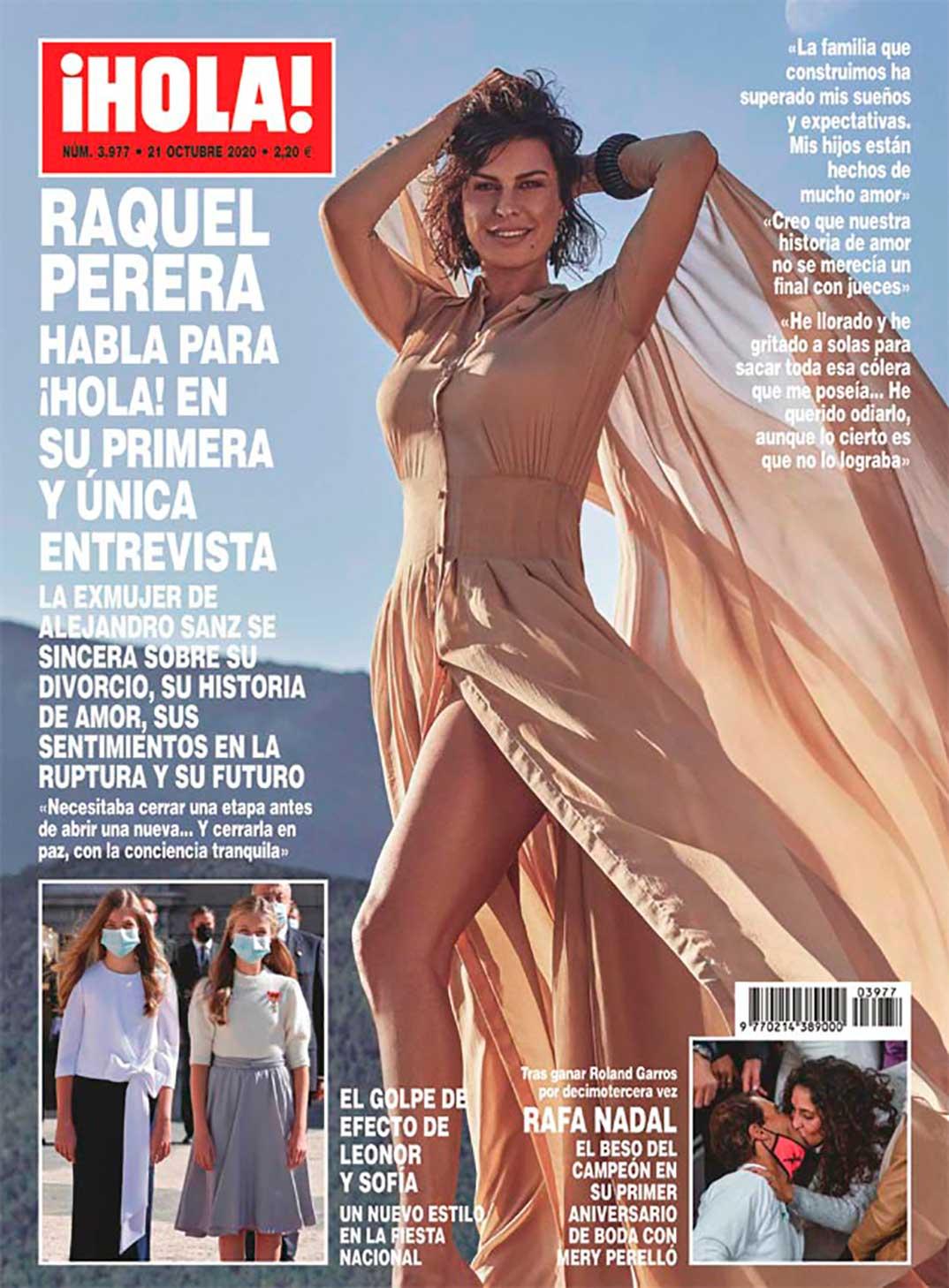 Raquel Perera - Revista Hola