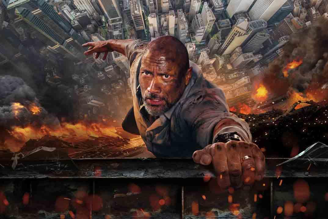 """""""El rascacielos"""" protagonizado por Dwayne Johnson esta noche en Telecinco"""