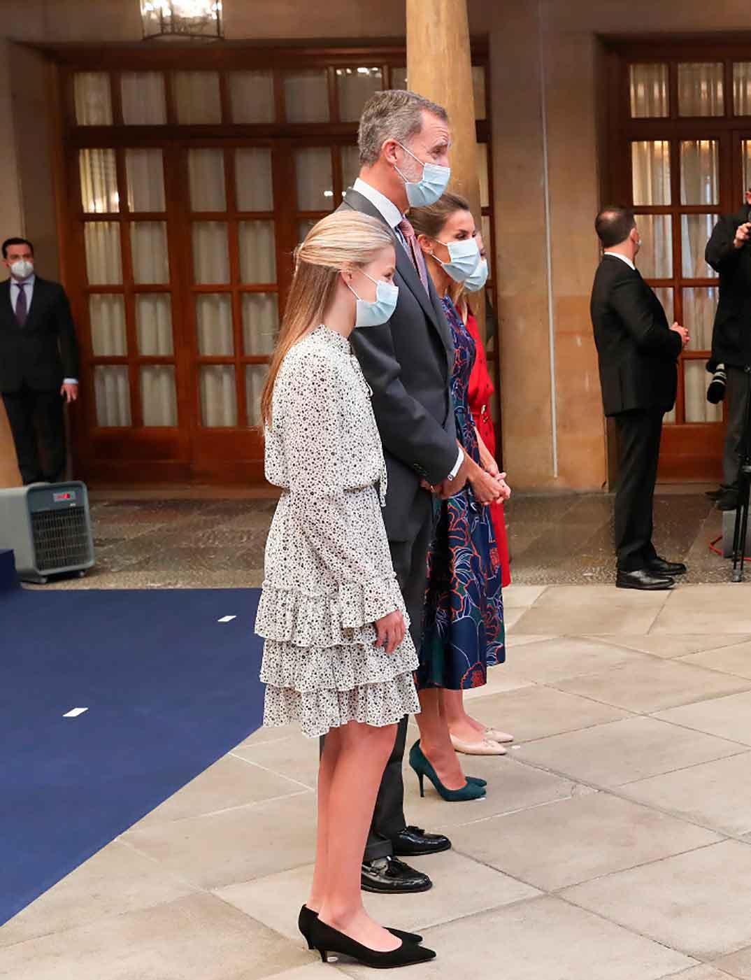 Princesa Leonor - Audiencia a los galardonados con los Premios Princesa de Asturias 2020 © Casa S.M. El Rey