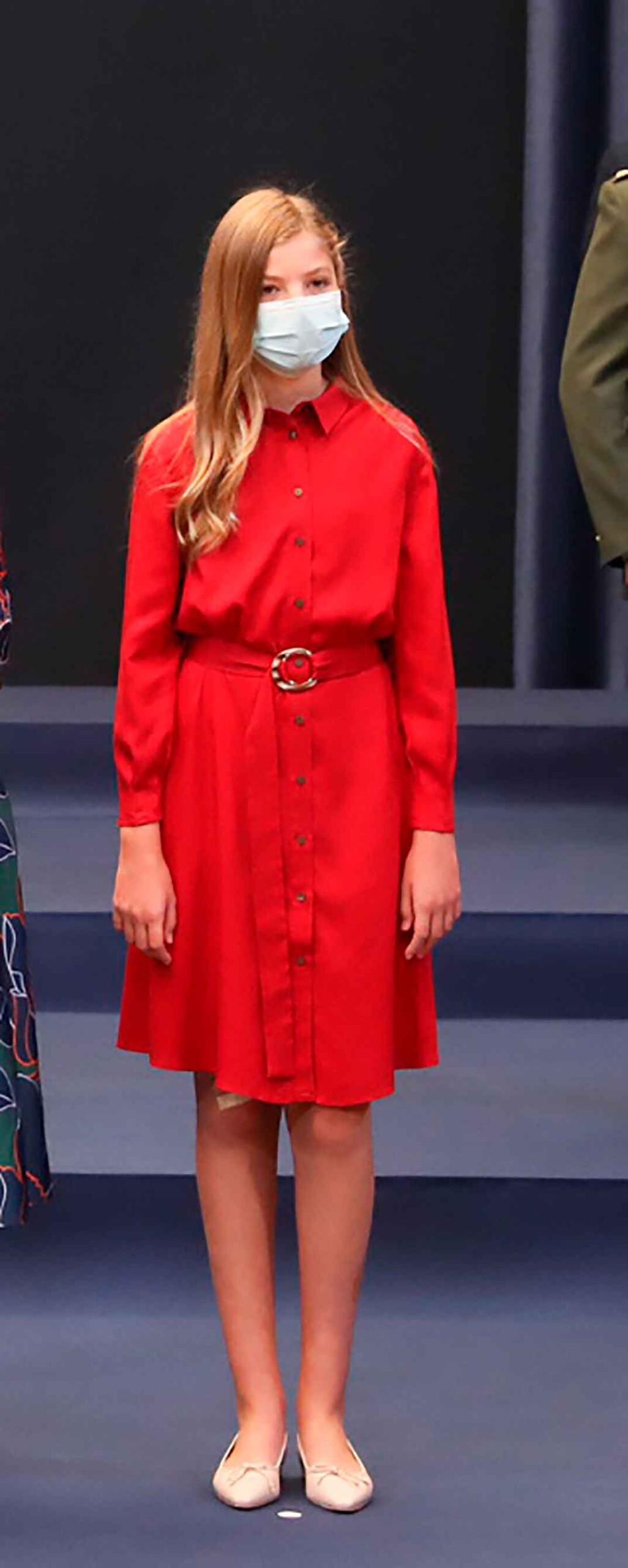Infanta Sofía - Audiencia a los galardonados con los Premios Princesa de Asturias 2020 © Casa S.M. El Rey