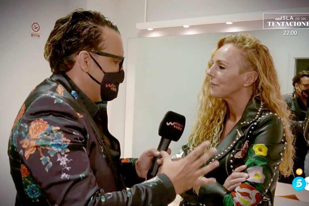 Torito y Rocío Carrasco - Viva la Vida © Telecinco