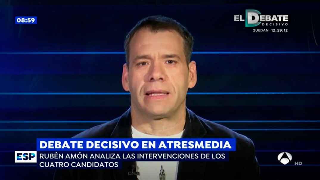 Rubén Amón - Espejo Público © Antena 3