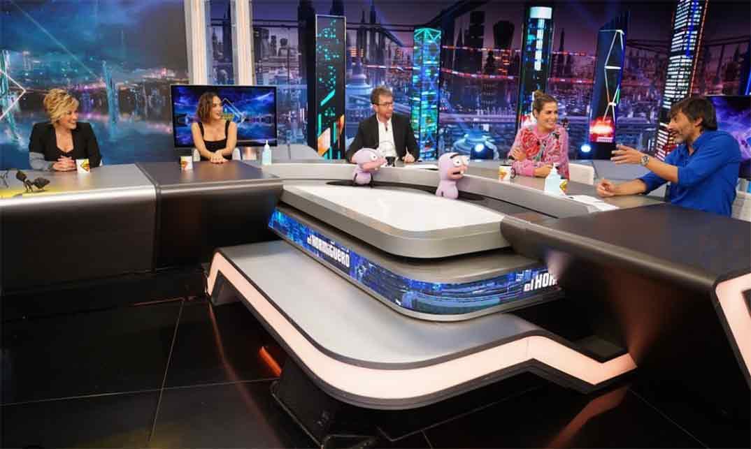 Tamara Falcó, Cristina Pardo, Nuria Roca y Juan del Val con Pablo Motos - El Hormiguero © Antena 3