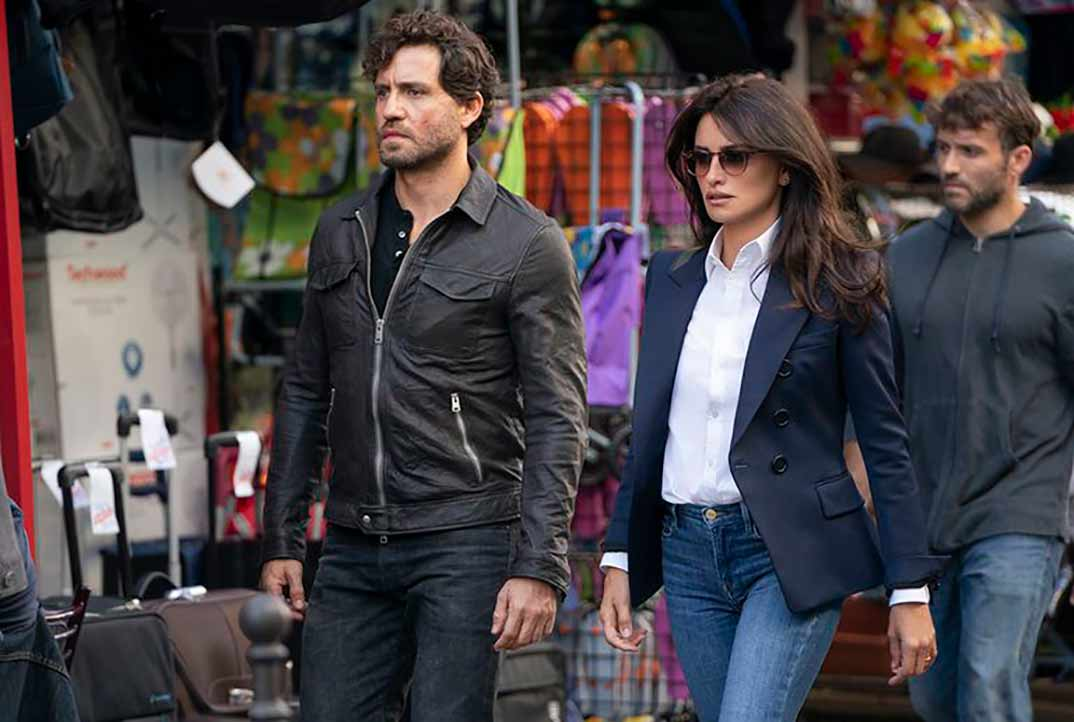 Penélope Cruz y Edgar Ramírez - The 355