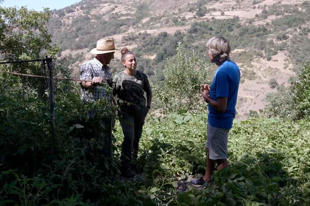 Jesús Calleja visita La Alpujarra en Granada