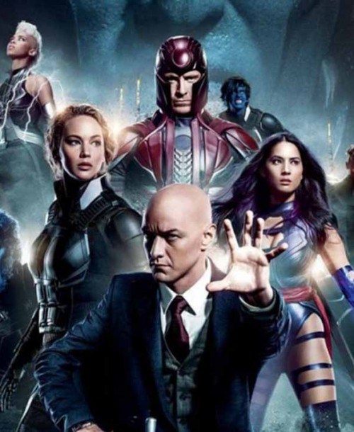 """X-Men: Apocalipsis"" con Michael Fassbender, Jennifer Lawrence y Sophie Turner"