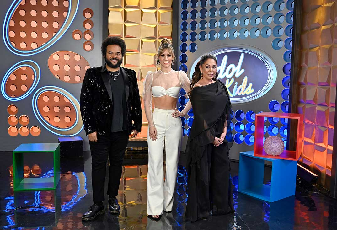 Carlos Jean, Edurne e Isabel Pantoja - Idol Kids © Telecinco