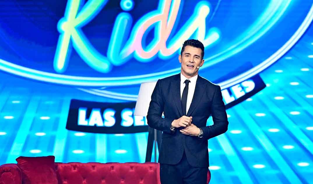 Jesús Vázquez - Idol Kids © Telecinco