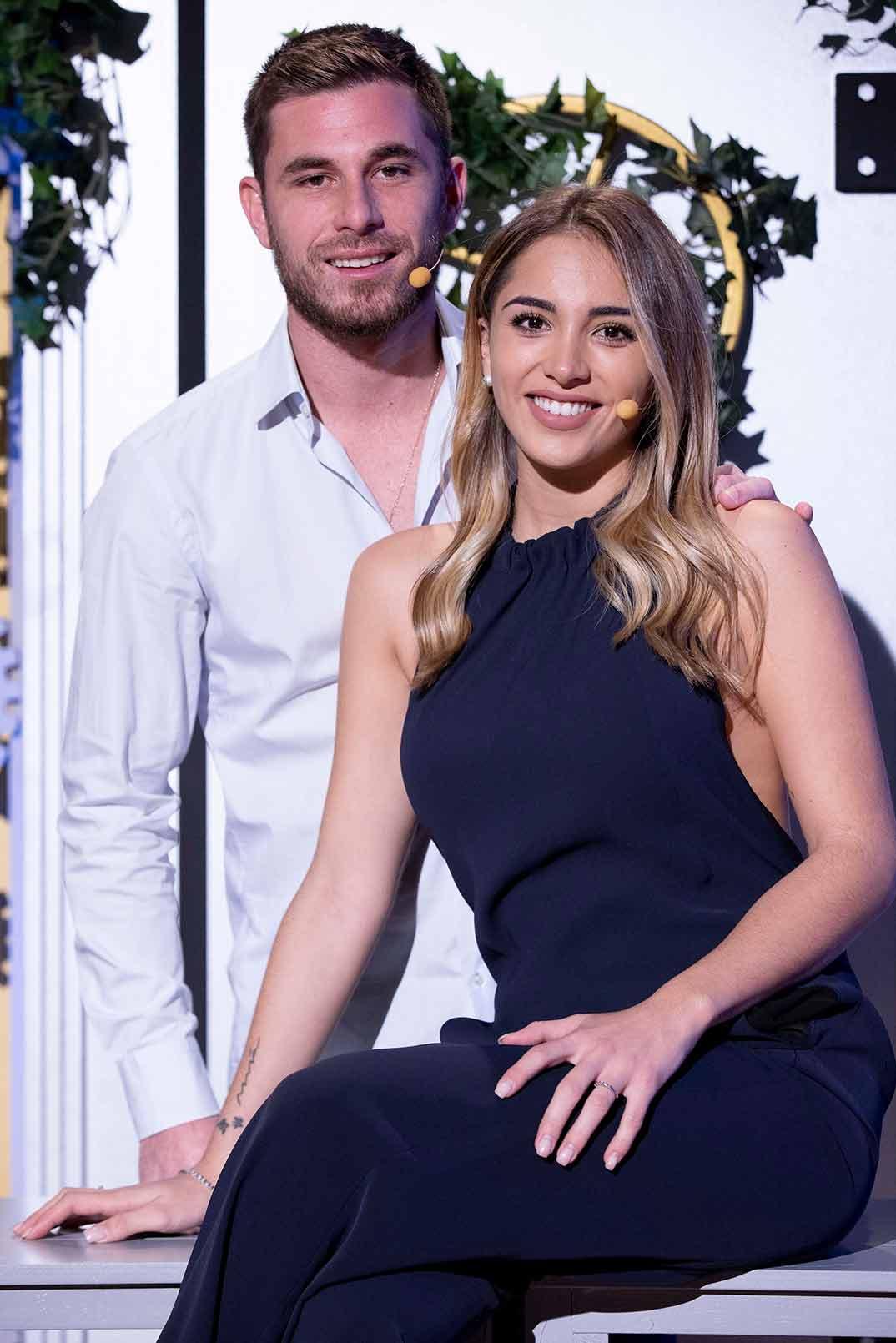 Tom Brusse y Sandra Pica - La casa fuerte 2 © Telecinco