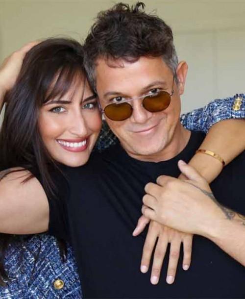 La romántica felicitación de Alejandro Sanz a Rachel Valdés