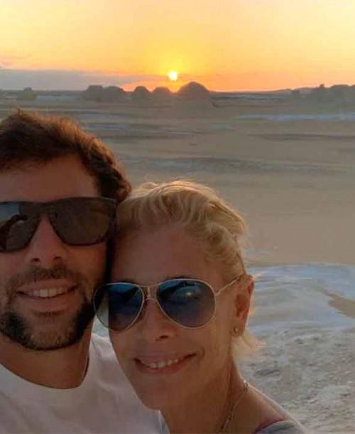 La romántica felicitación de Belén Rueda a su novio Javier Artime