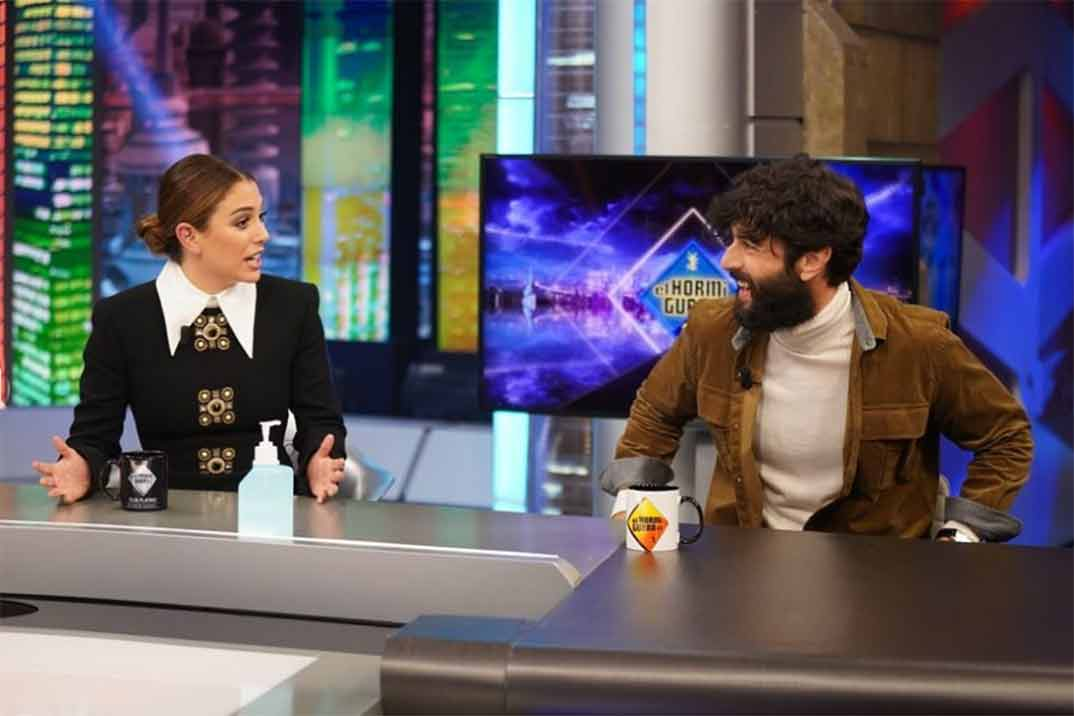 Javier Rey y Blanca Suárez - El Hormiguero © Antena 3