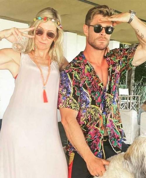 El gran parecido de Elsa Pataky con la madre de Chris Hemsworth, según sus fans