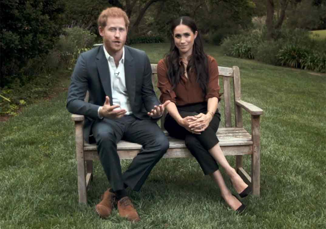 Duques de Sussex © ABC/Youtube