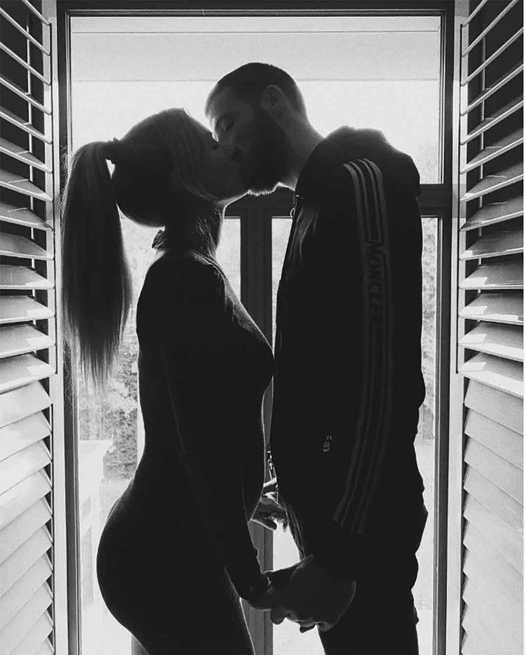 Edurne y David De Gea © Instagram
