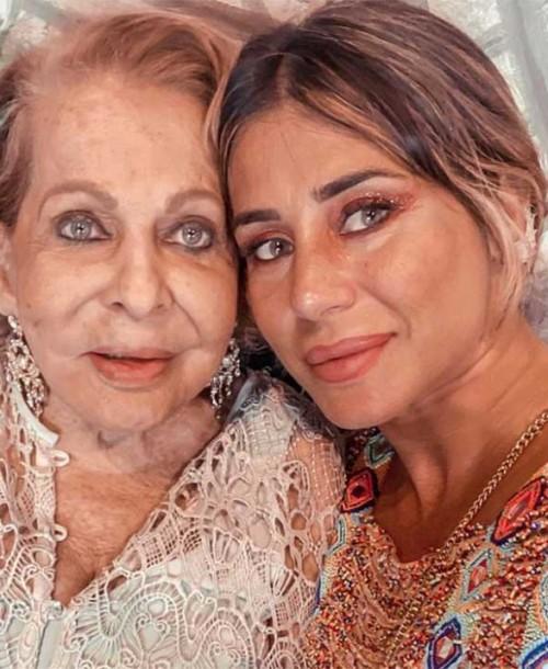 Elena Tablada llora la muerte de su abuela