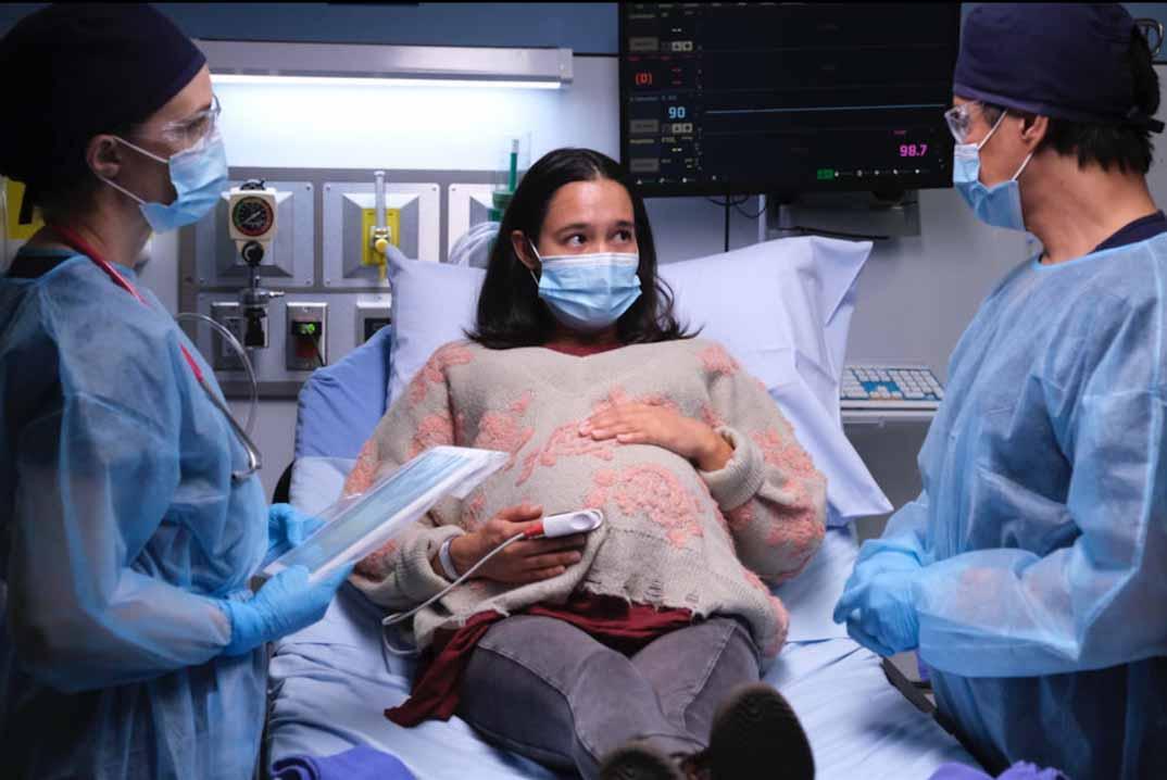 good doctor 4x01 embarazada