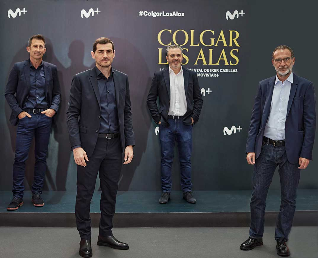 Iker Casillas - Colgar las alas © Movistar+