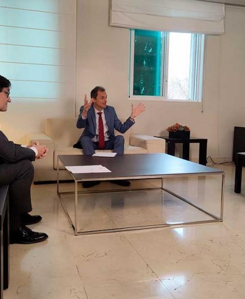 Salvador Illa y Pedro Duque en el especial 'Planeta Calleja'