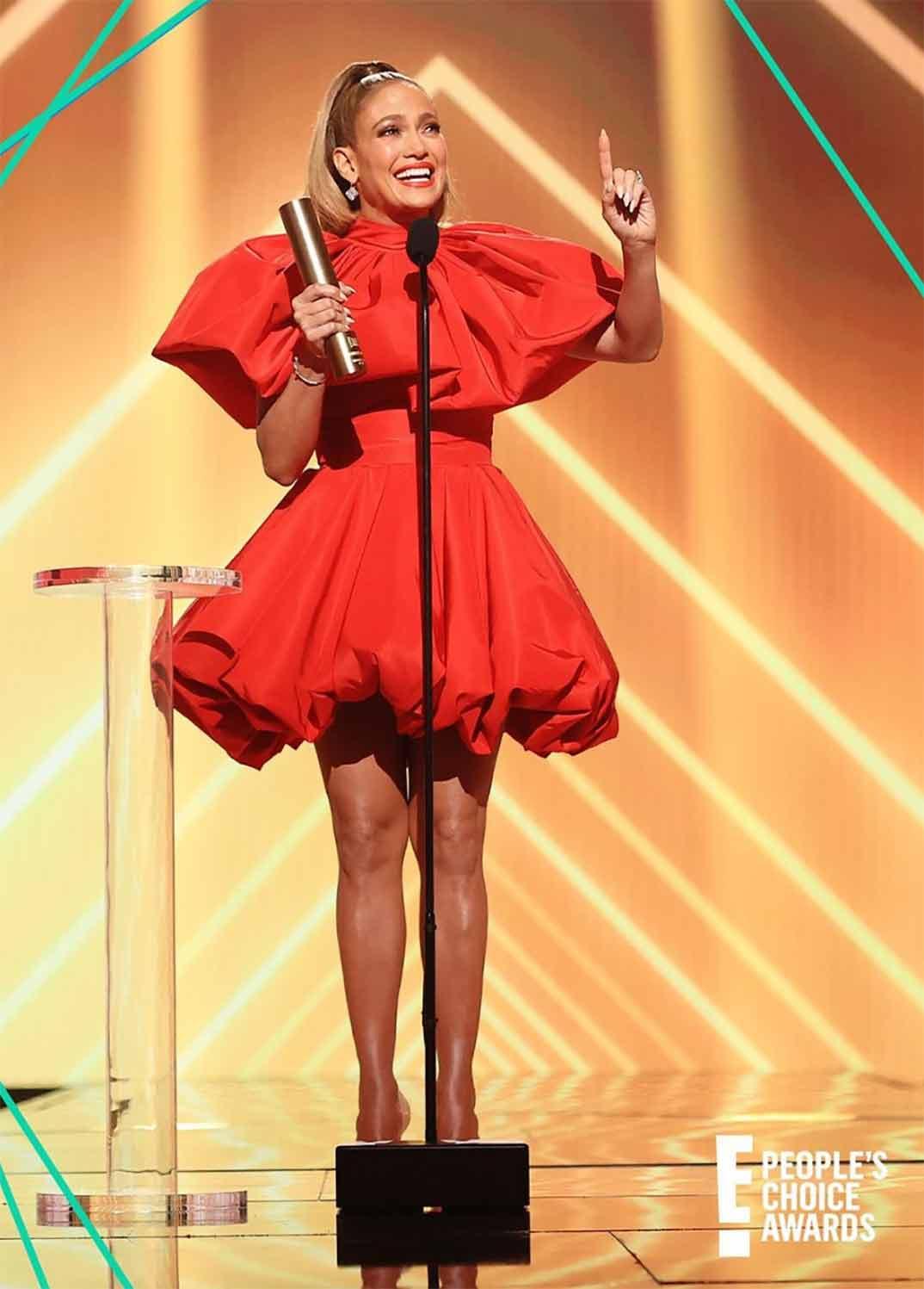 Jennifer López - People's Choice Awards 2020 © Instagram