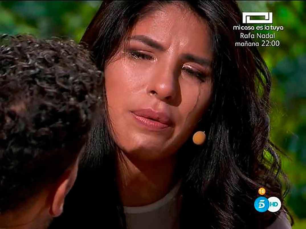 Isa Pantoja y Asraf Beno - La casa fuerte 2 © Telecinco