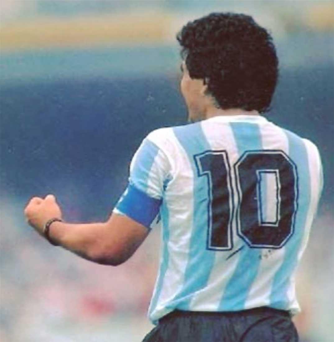 Maradona © Redes Sociales