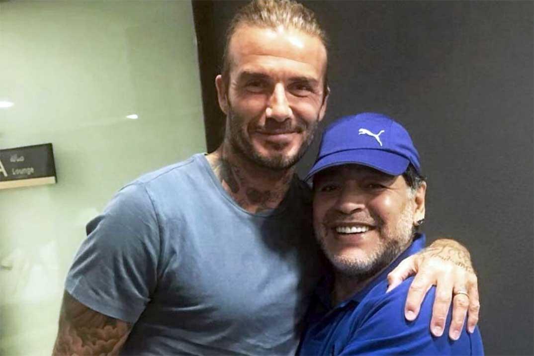 Los famosos lloran la muerte de Diego Armando Maradona