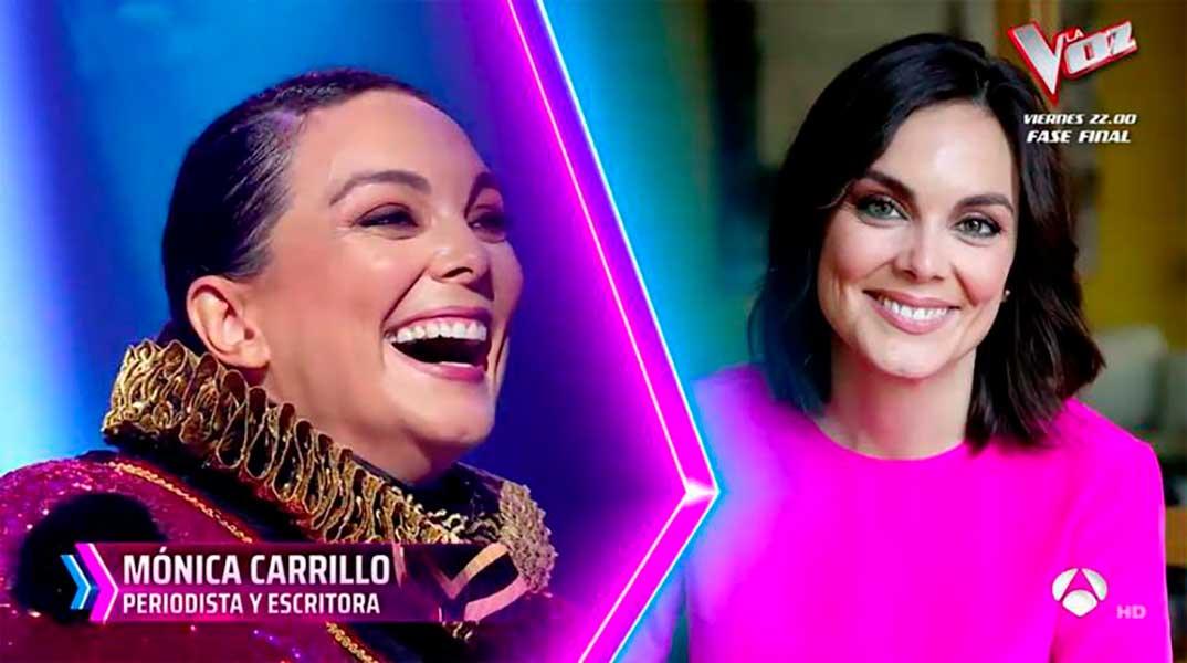 Mónica Carrillo - Mask Singer © Antena 3