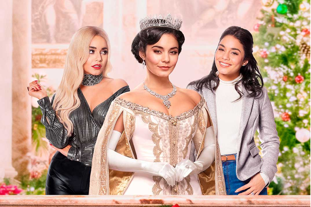'(Re)cambio de princesa', con Vanessa Hudgens, estreno en Netflix