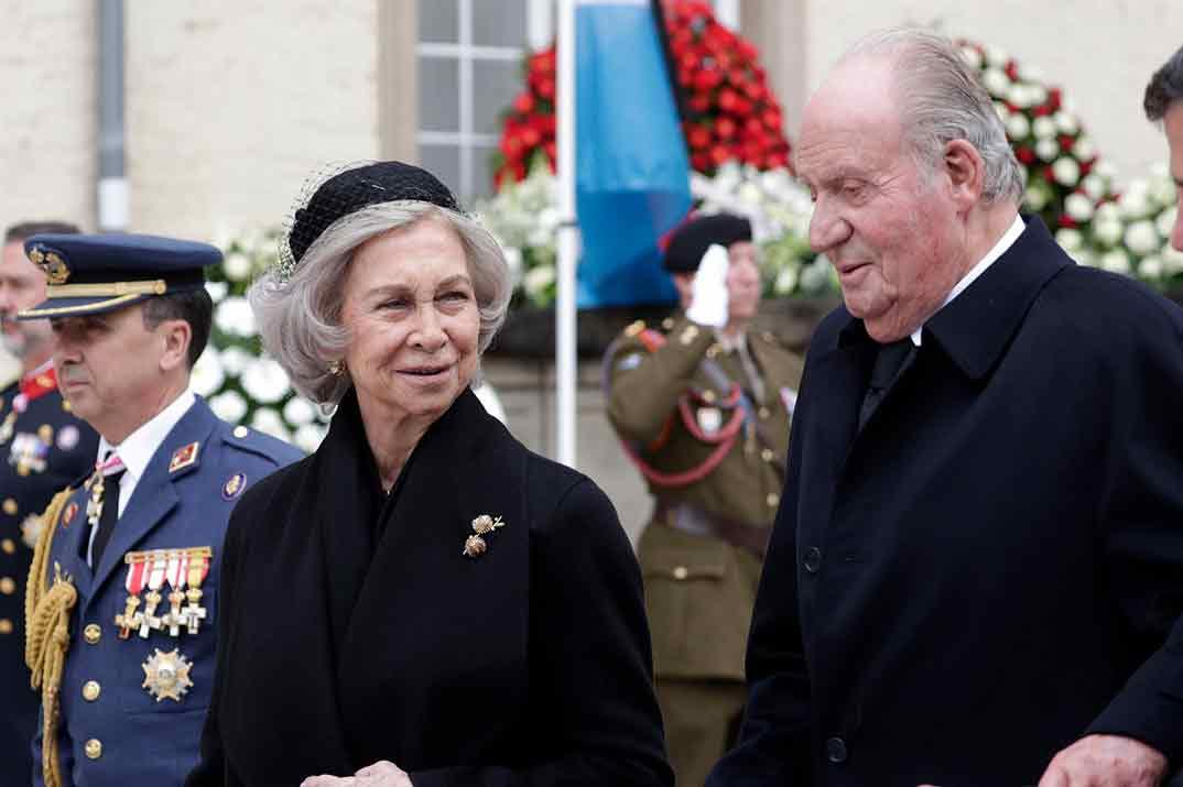 Reina Sofia y Rey Juan Carlos © Casa S.M. El Rey