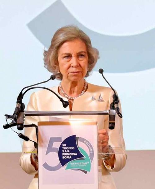 La reina Sofía celebra su cumpleaños más triste