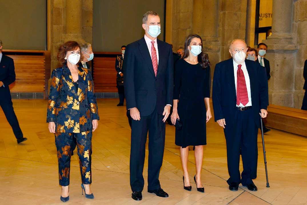 Reyes Felipe y Letizia - Premio Francisco Cerecedo © Casa S.M. El Rey