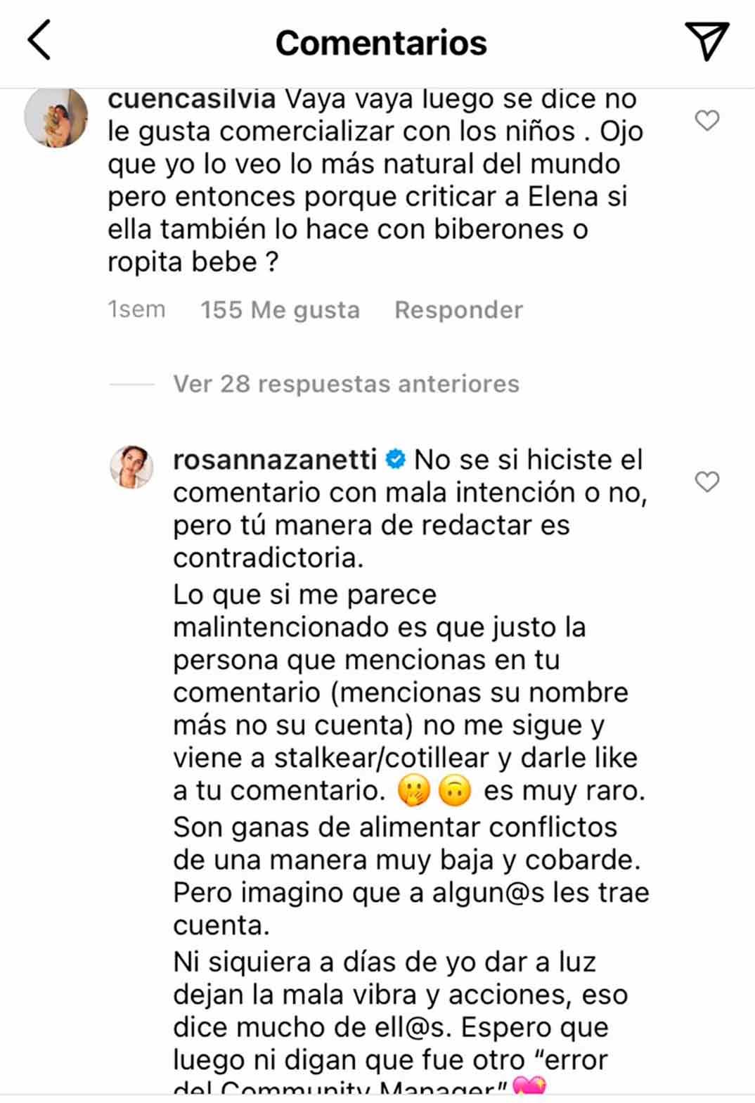 Rosanna Zanetti © Instagram