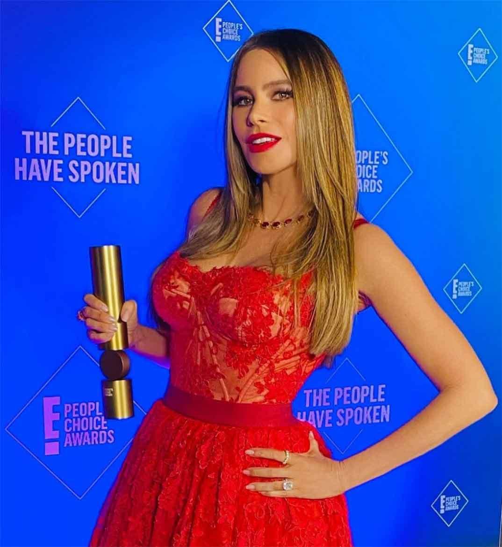 Sofia Vergara - People's Choice Awards 2020 © Instagram