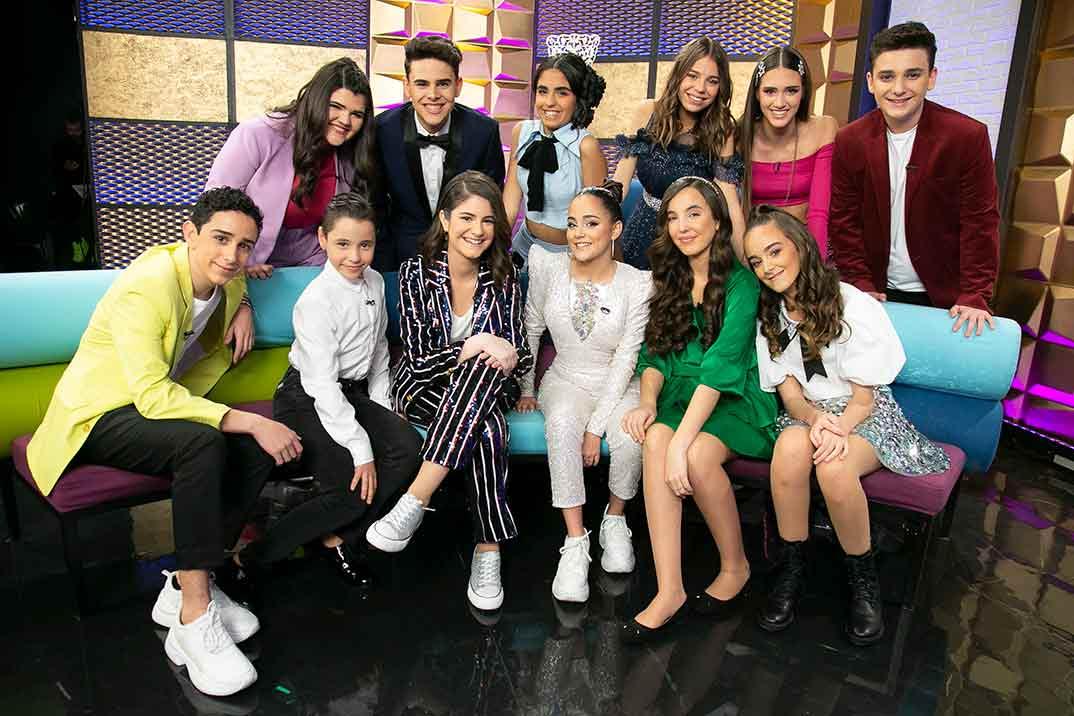 Finalistas- Idol Kids © Telecinco