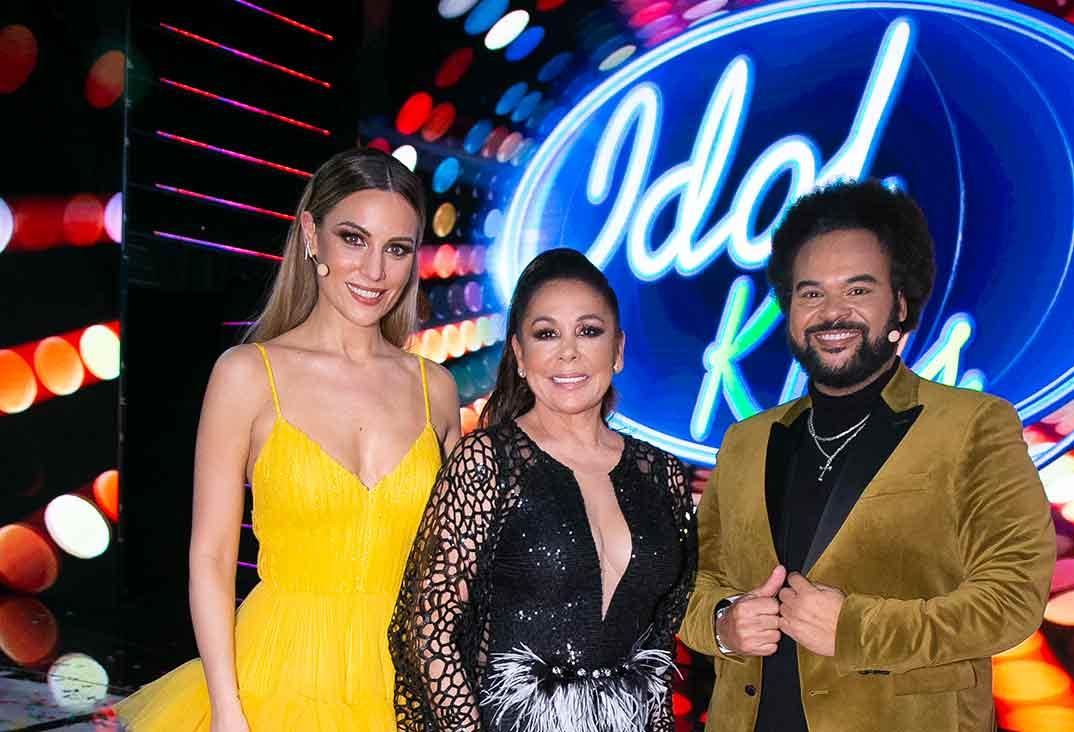 Edurne, Isabel Pantoja y Carlos Jean - Idol Kids © Telecinco