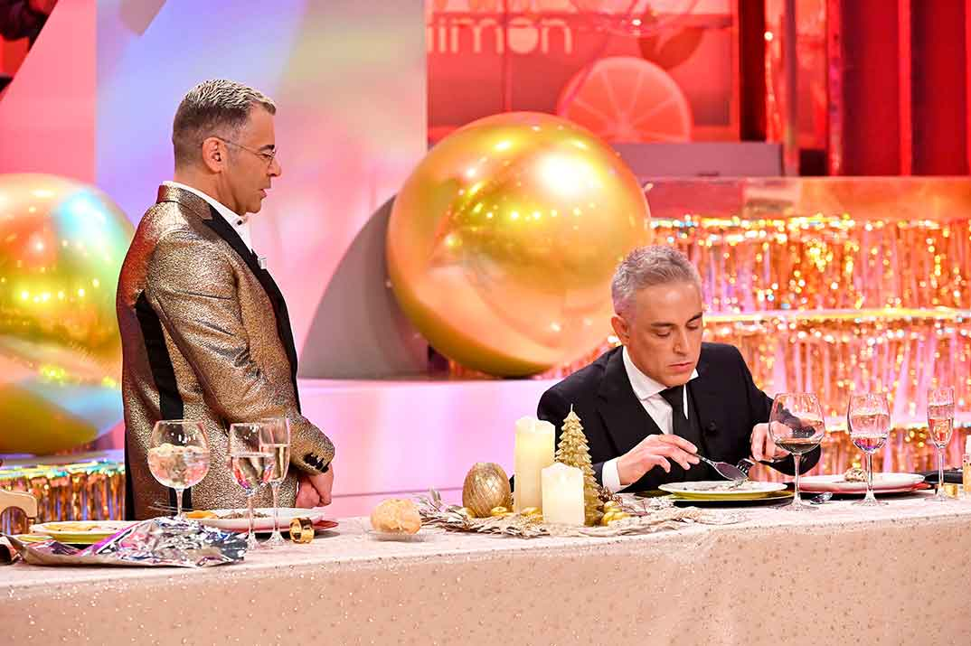 Kiko Hernández, Jorge Javier Vázquez - La última cena © Telecinco