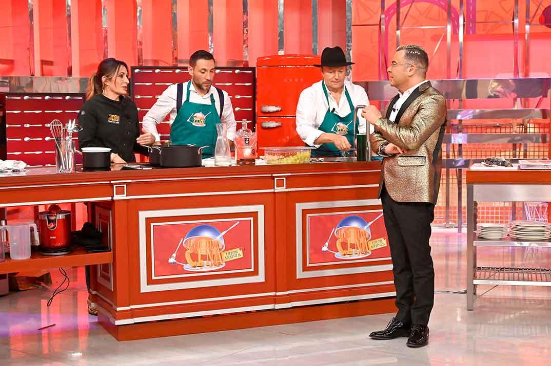 Antonio David Flores, Amador Mohedano, Jorge Javier Vázquez - La última cena © Telecinco