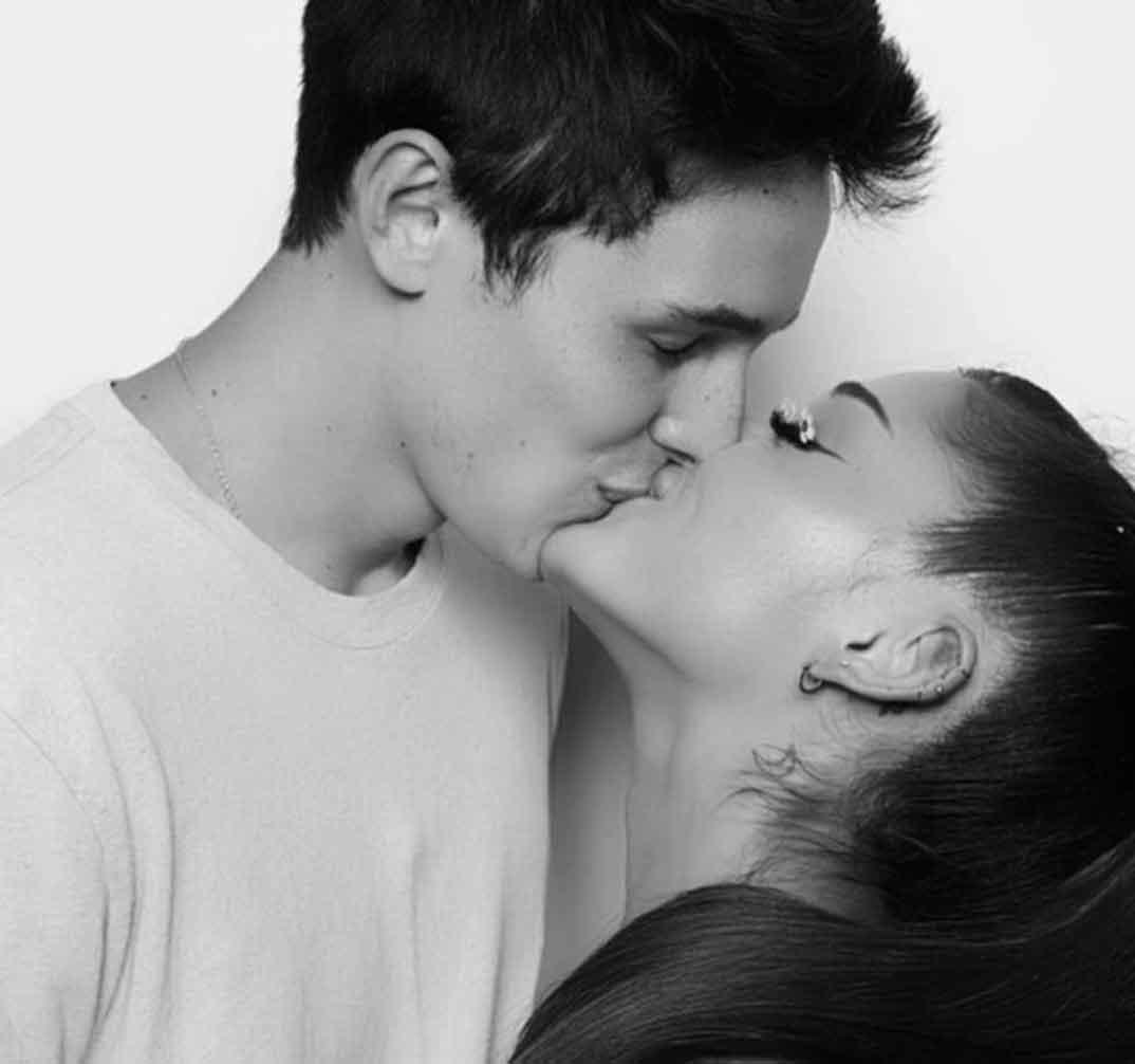 Ariana Grande y Dalton Gómez © Instagram
