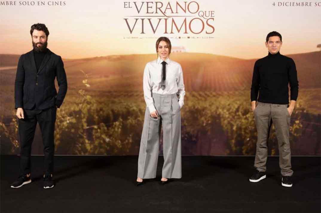 Blanca Suárez, Javier Rey y Pablo Molinero - El verano que vivimos © Instagram